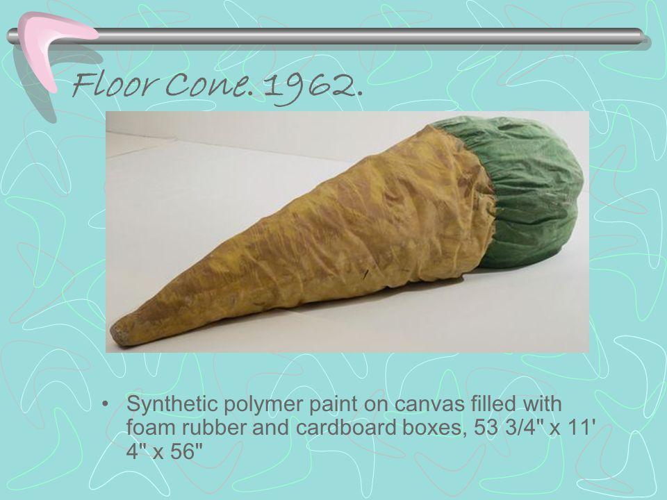 Floor Cone.1962.