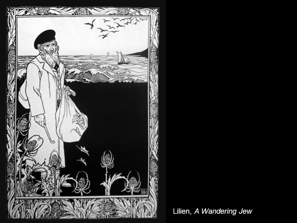 Lilien, A Wandering Jew