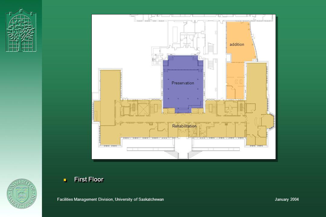 January 2004Facilities Management Division, University of Saskatchewan