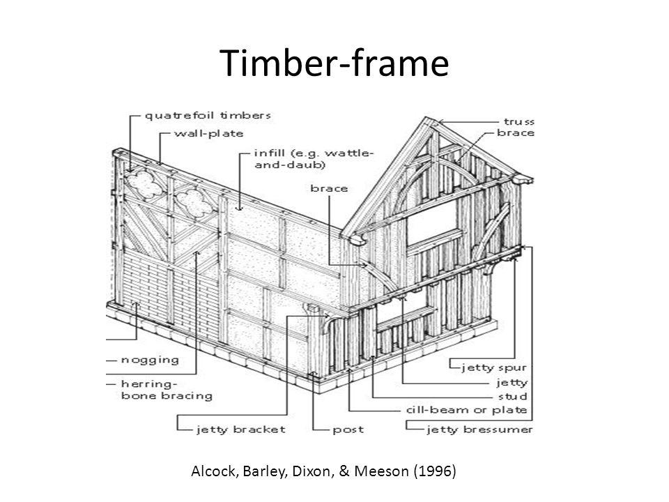 Timber-frame Alcock, Barley, Dixon, & Meeson (1996)