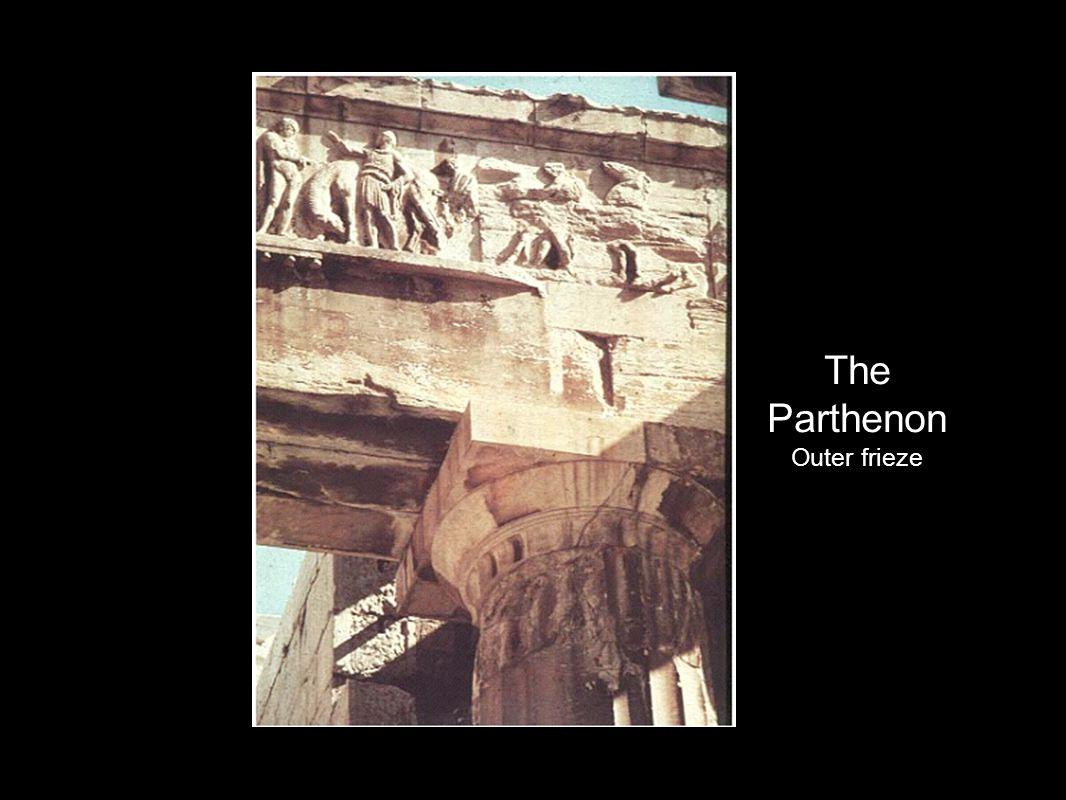 The Parthenon Outer frieze