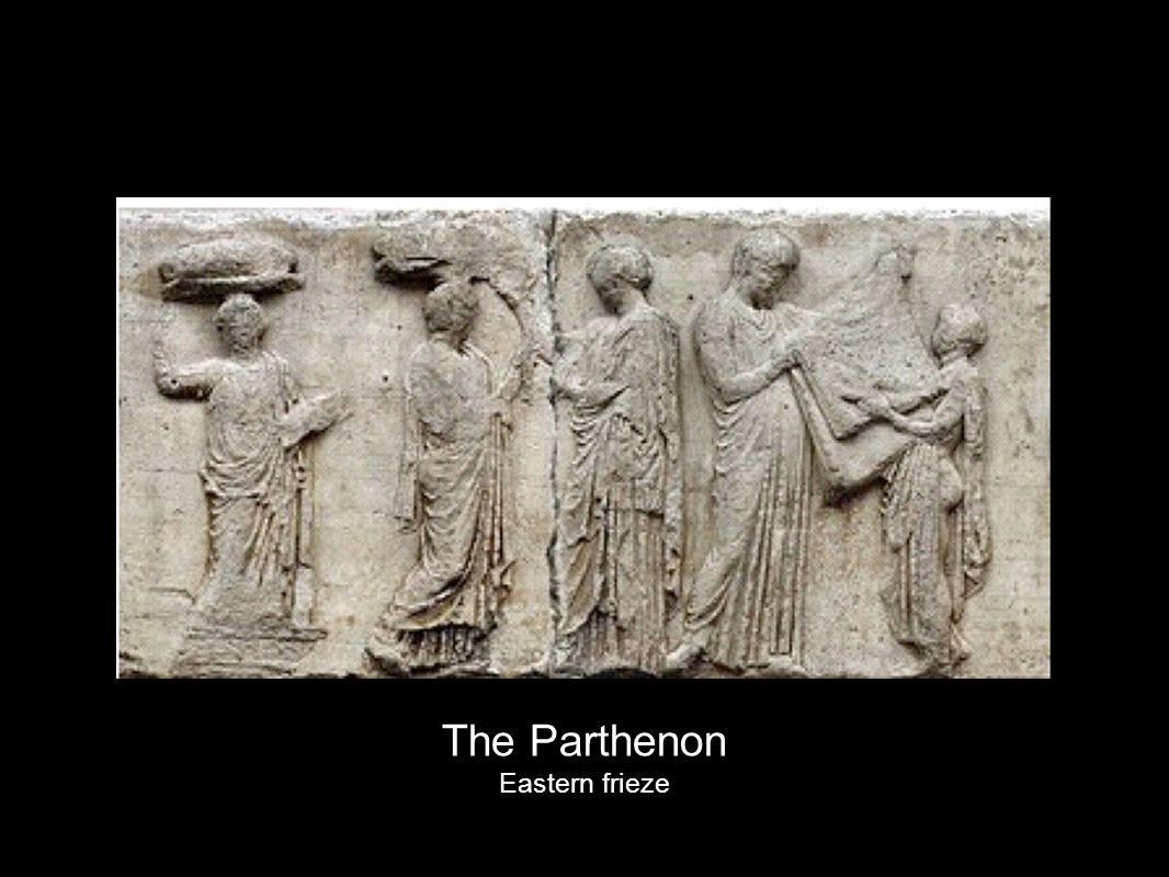 The Parthenon Eastern frieze