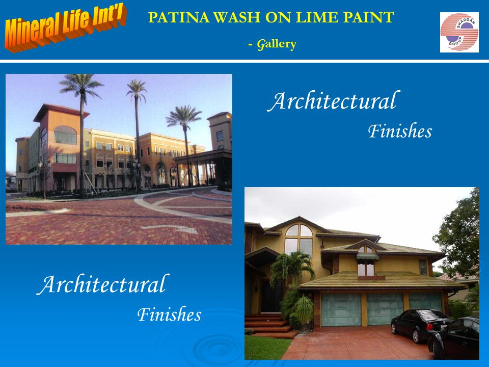 PATINA WASH ON LIME PAINT - G allery Architectural Finishes Architectural Finishes