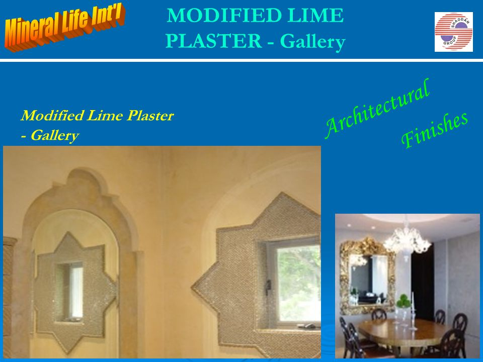MODIFIED LIME PLASTER - Gallery Modified Lime Plaster - Gallery Architectural Finishes