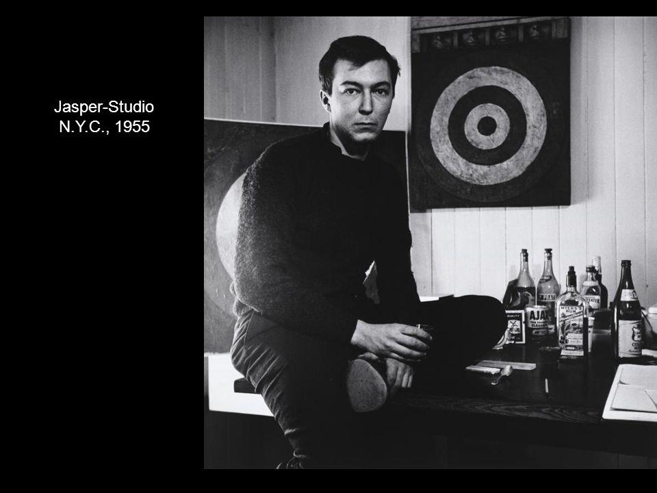 Jasper-Studio N.Y.C., 1955