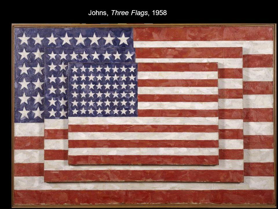 Johns, Three Flags, 1958