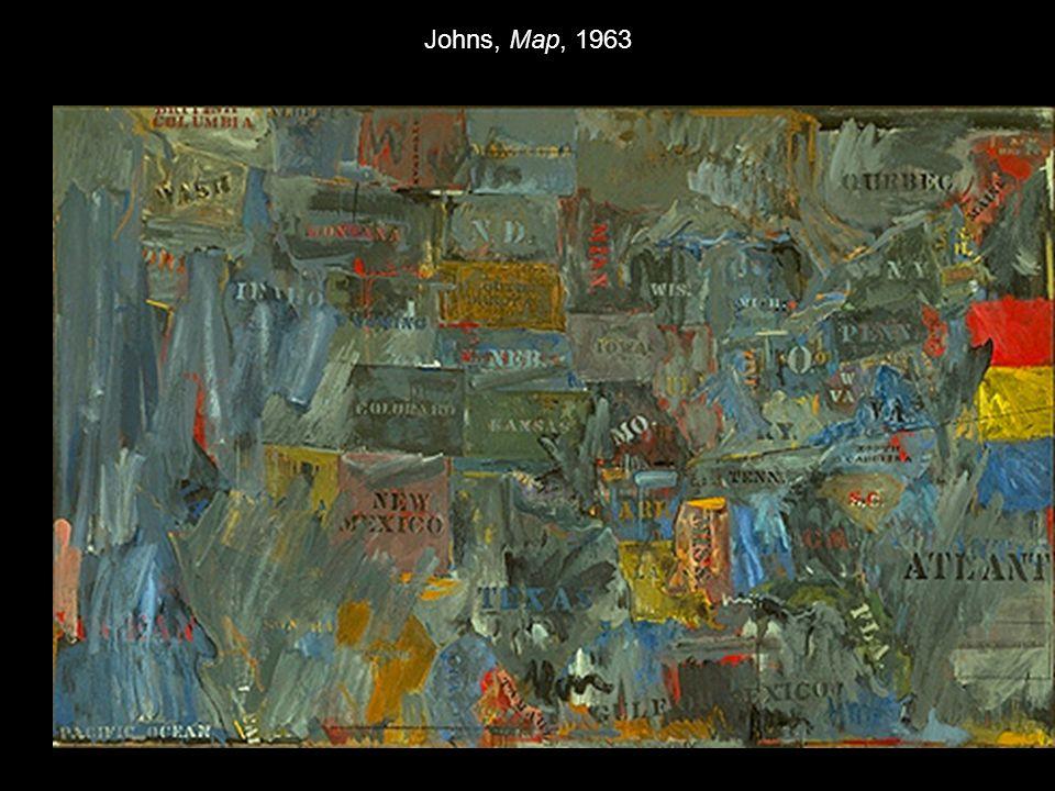 Johns, Map, 1963