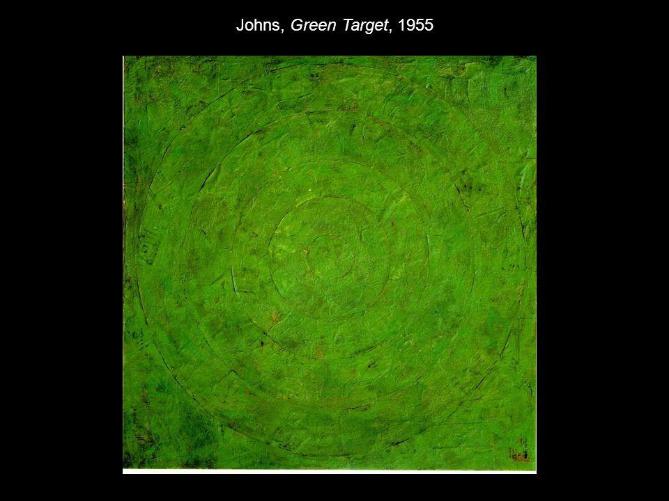 Johns, Green Target, 1955