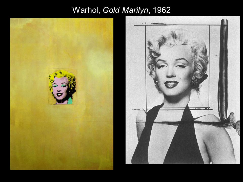 Warhol, Gold Marilyn, 1962