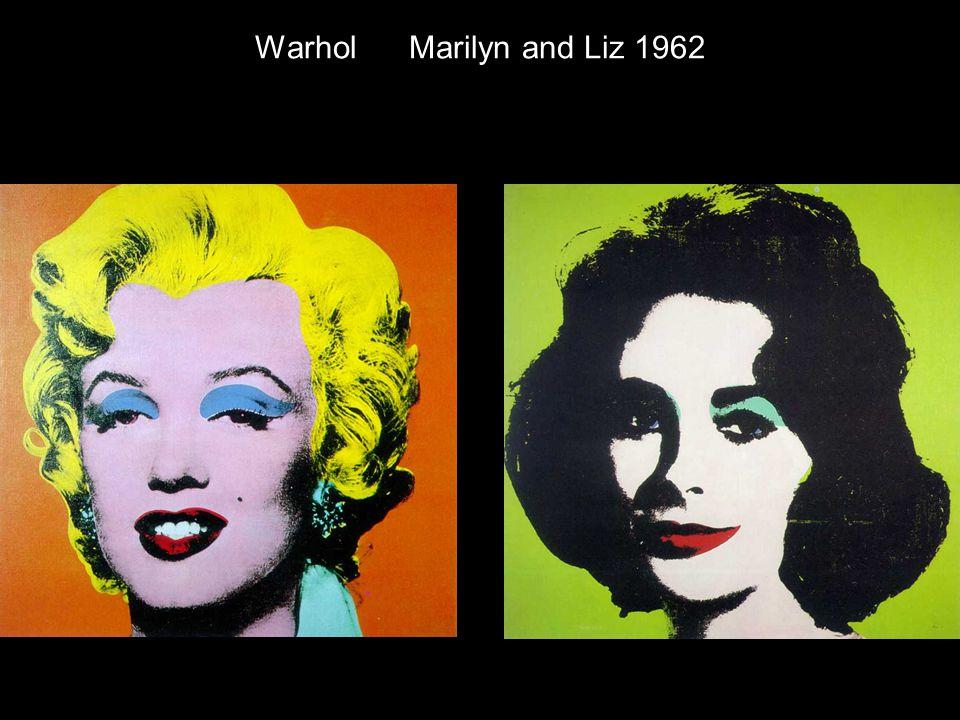 Warhol Marilyn and Liz 1962