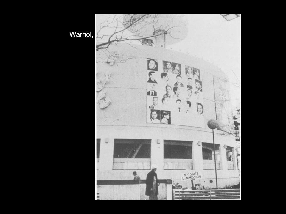 Warhol, White Burning Car III, 1963