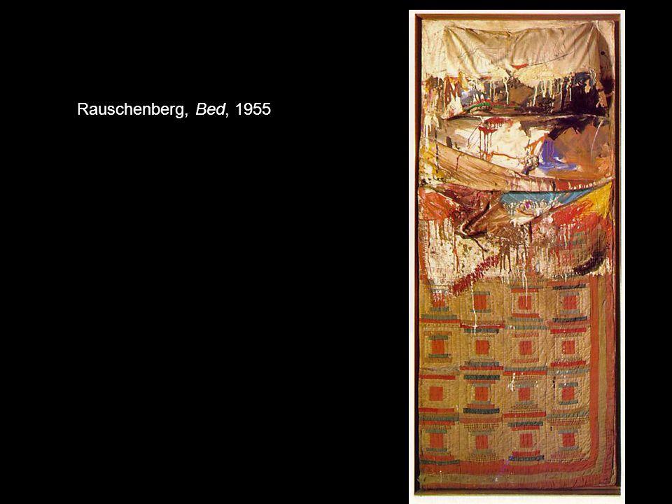 Rauschenberg, Bed, 1955