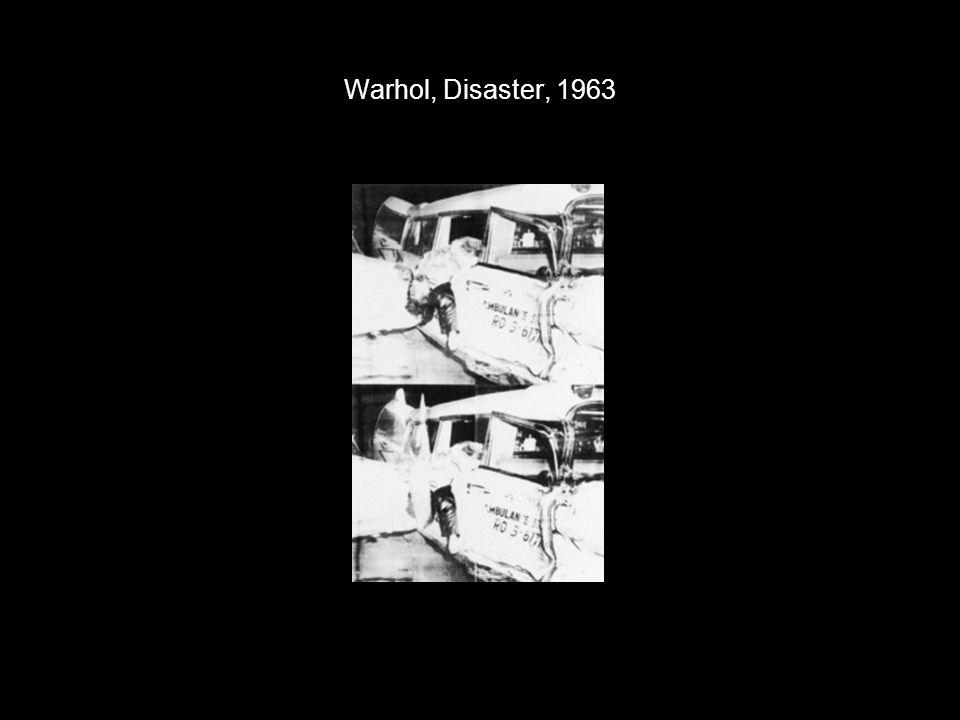 Warhol, Disaster, 1963