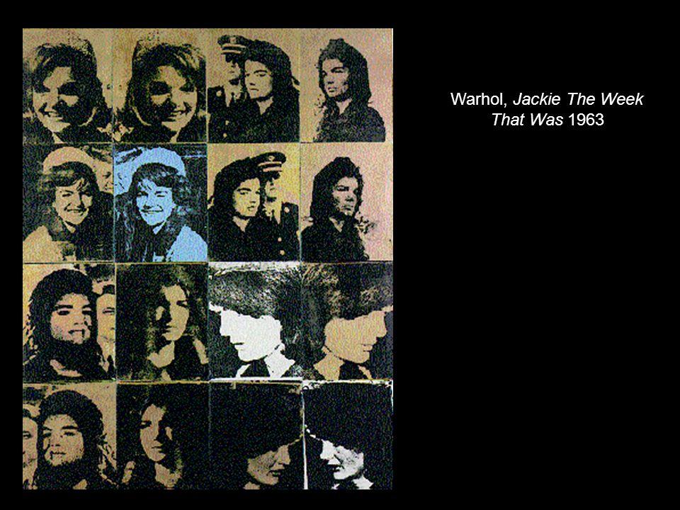 Warhol, Jackie The Week That Was 1963
