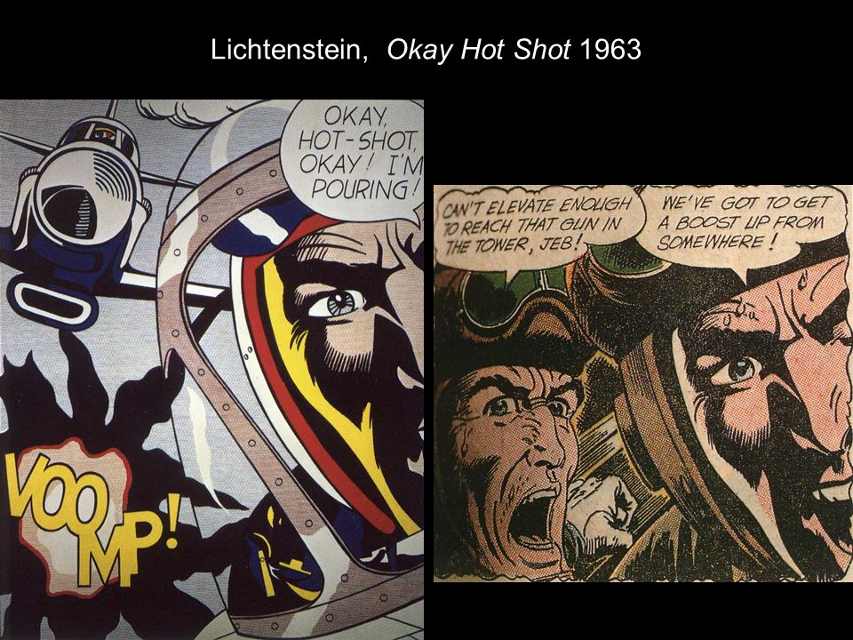 Lichtenstein, Okay Hot Shot 1963
