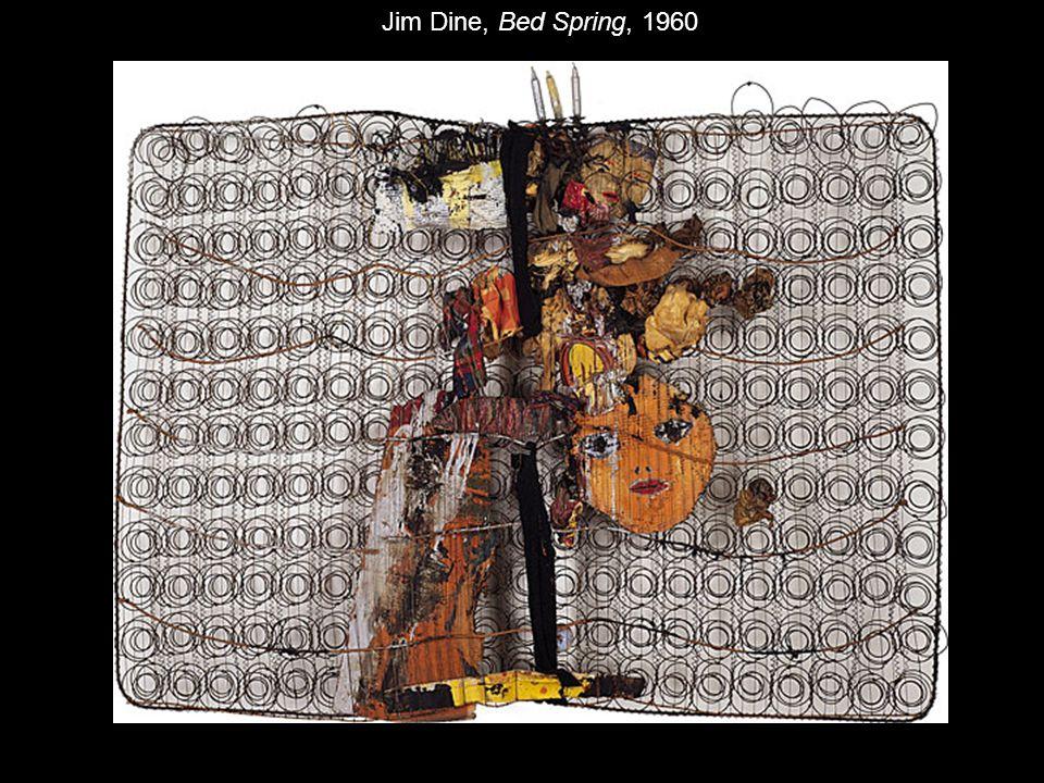 Jim Dine, Bed Spring, 1960