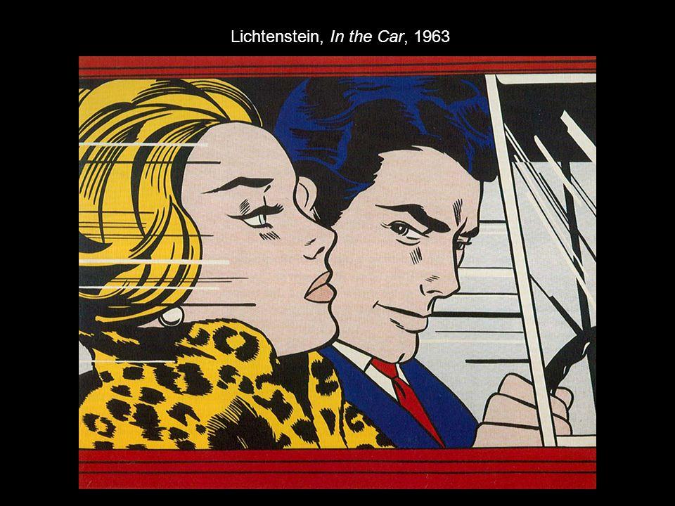 Lichtenstein, In the Car, 1963