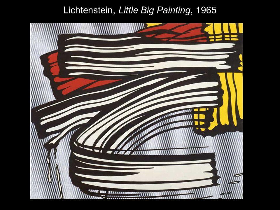 Lichtenstein, Little Big Painting, 1965