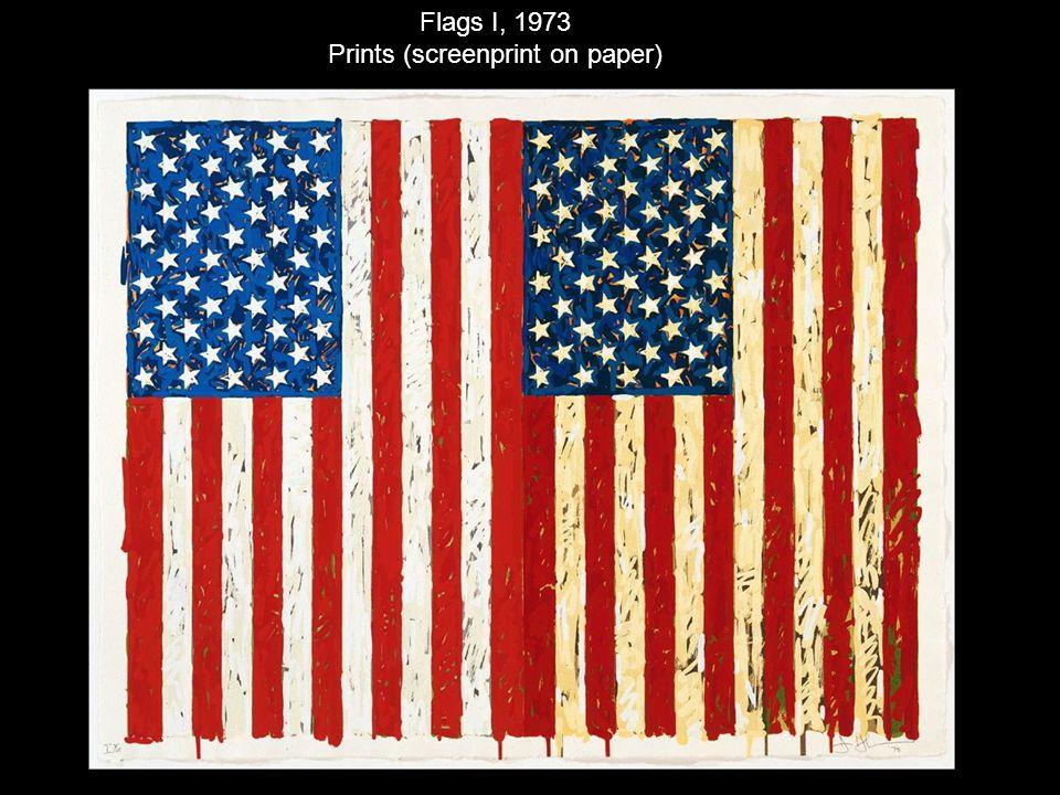 Flags I, 1973 Prints (screenprint on paper)