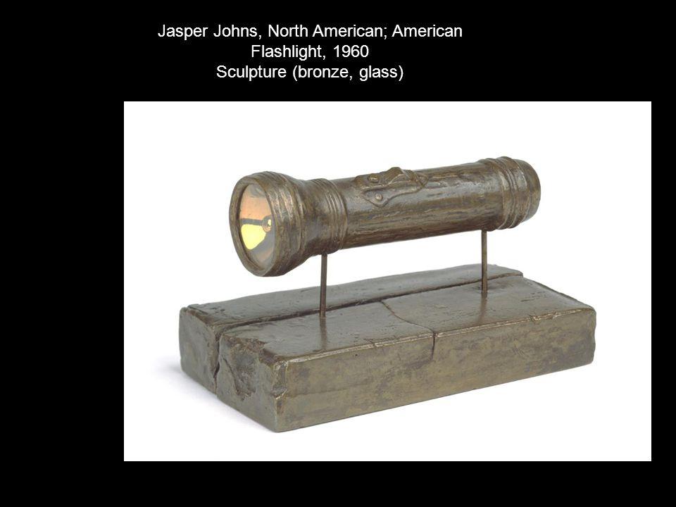 Jasper Johns, North American; American Flashlight, 1960 Sculpture (bronze, glass)