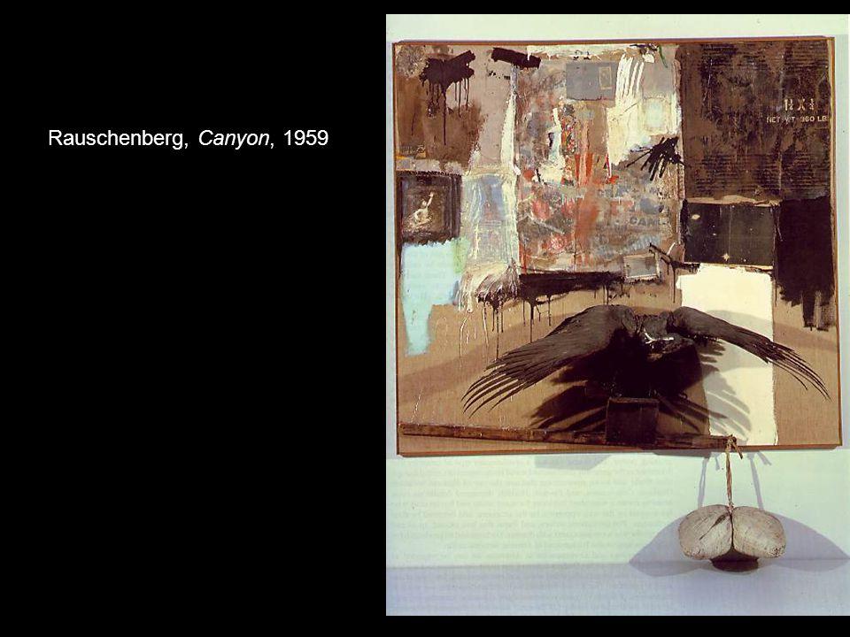 Rauschenberg, Canyon, 1959