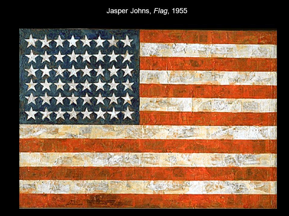 Jasper Johns, Flag, 1955