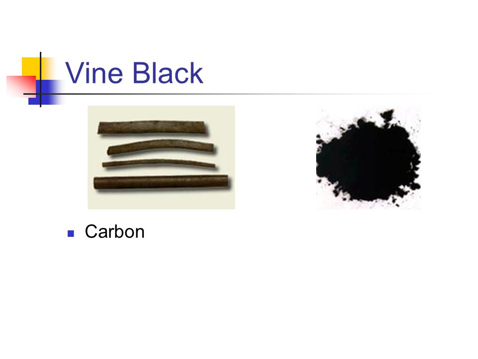 Vine Black Carbon