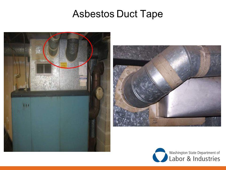 Asbestos Duct Tape