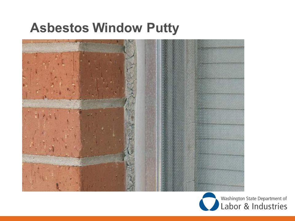 Asbestos Window Putty
