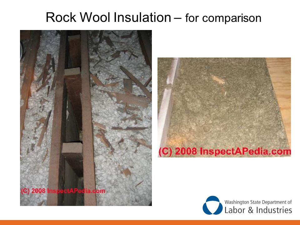 Rock Wool Insulation – for comparison