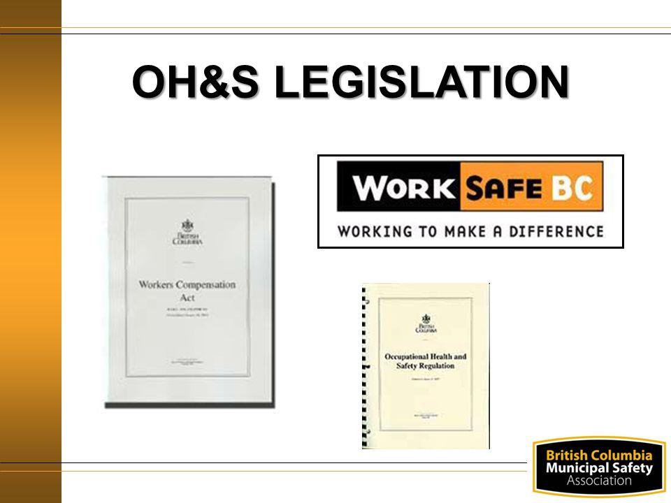 Legislation OH&S LEGISLATION