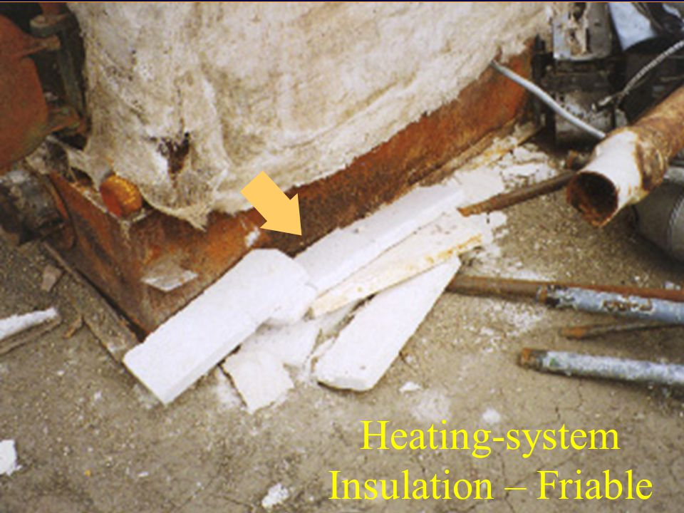 Heating-system Insulation – Friable