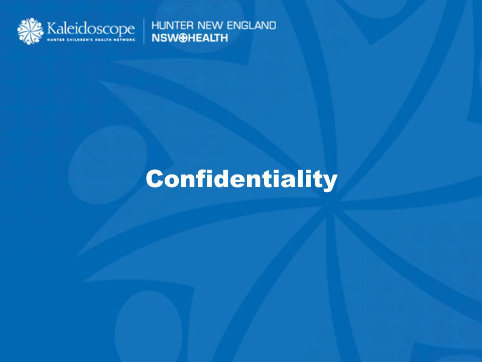 1 Confidentiality