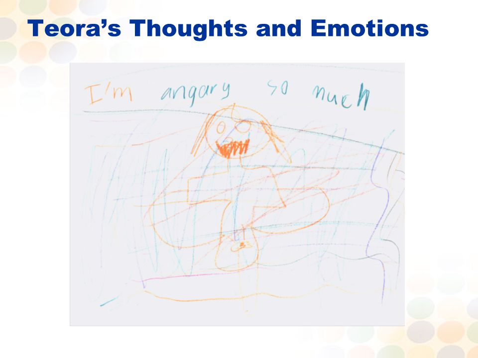 Teora's Thoughts and Emotions