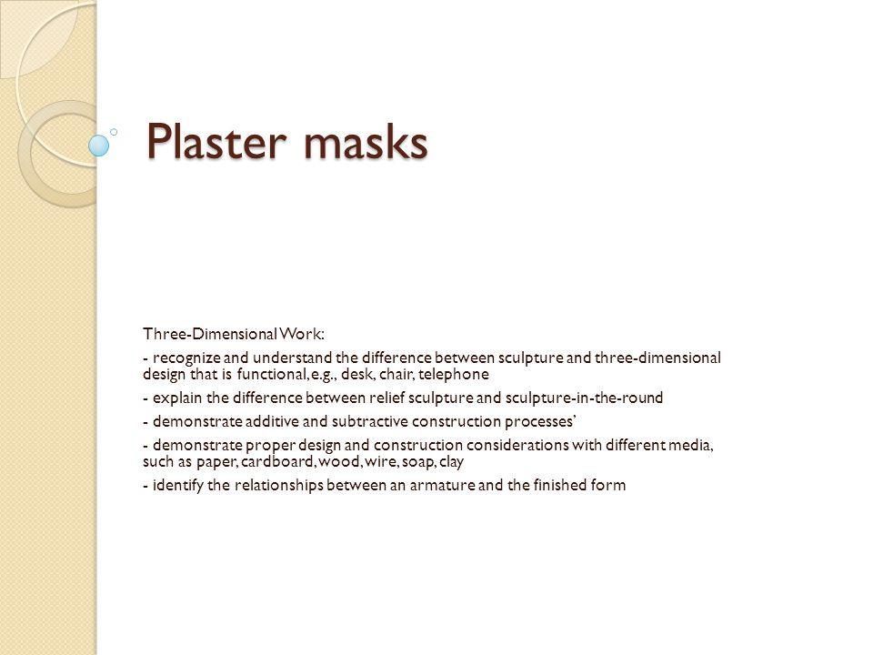 Why do cultures make masks.