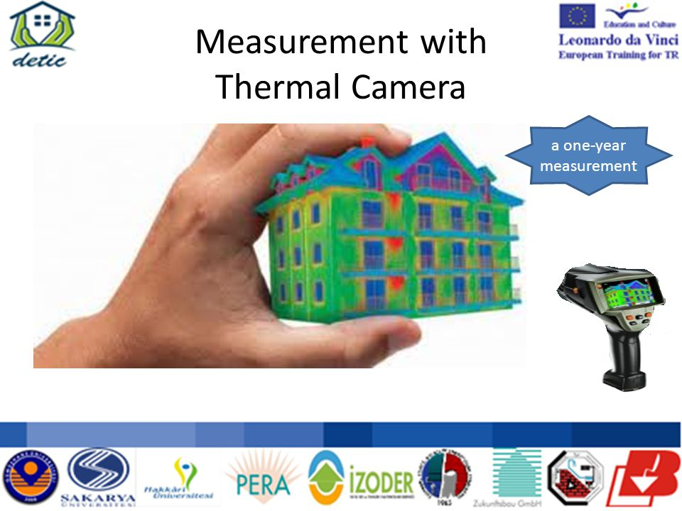 Measurement with Thermal Camera a one-year measurement