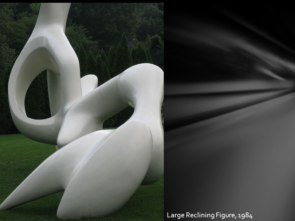 Large Reclining Figure, 1984
