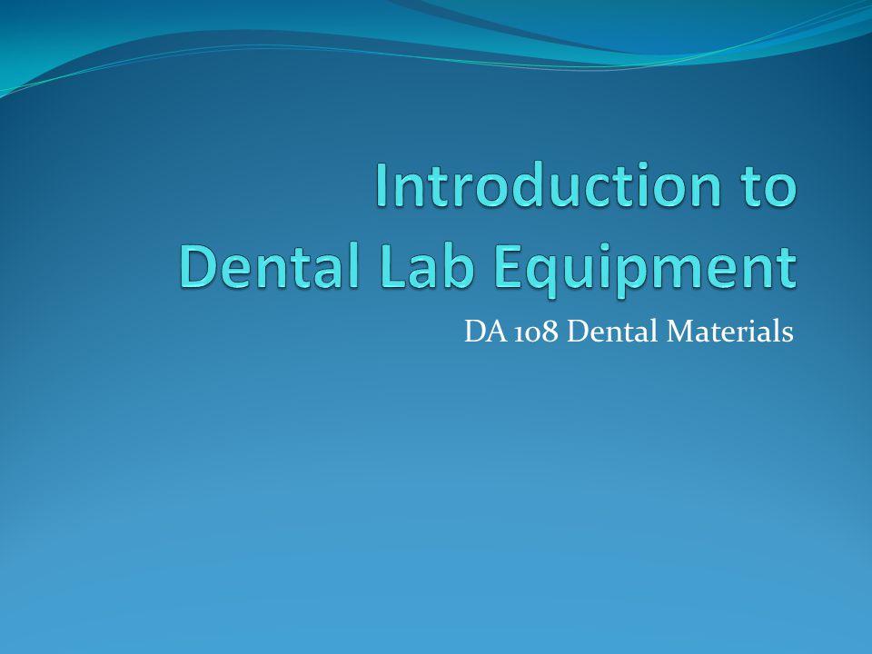 DA 108 Dental Materials