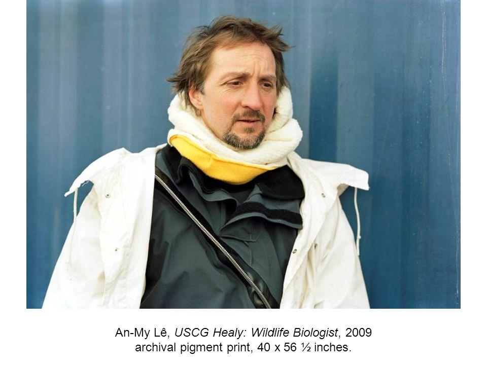 An-My Lê, USCG Healy: Wildlife Biologist, 2009 archival pigment print, 40 x 56 ½ inches.