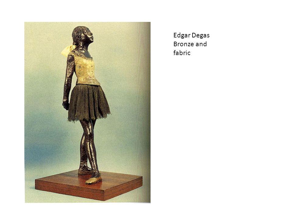 Edgar Degas Bronze and fabric