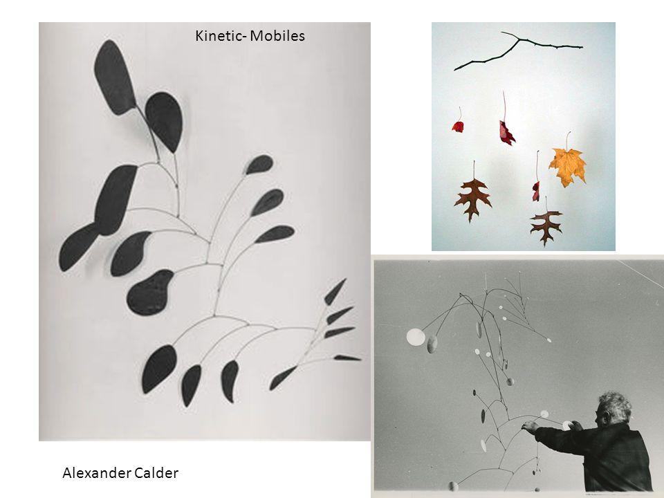 Alexander Calder Kinetic- Mobiles