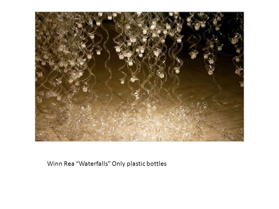 Winn Rea Waterfalls Only plastic bottles