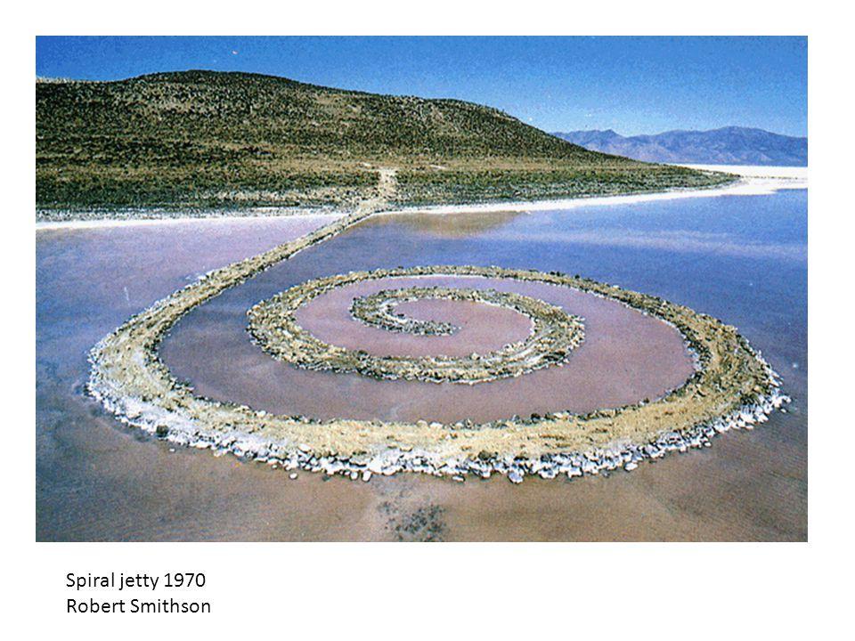 Spiral jetty 1970 Robert Smithson