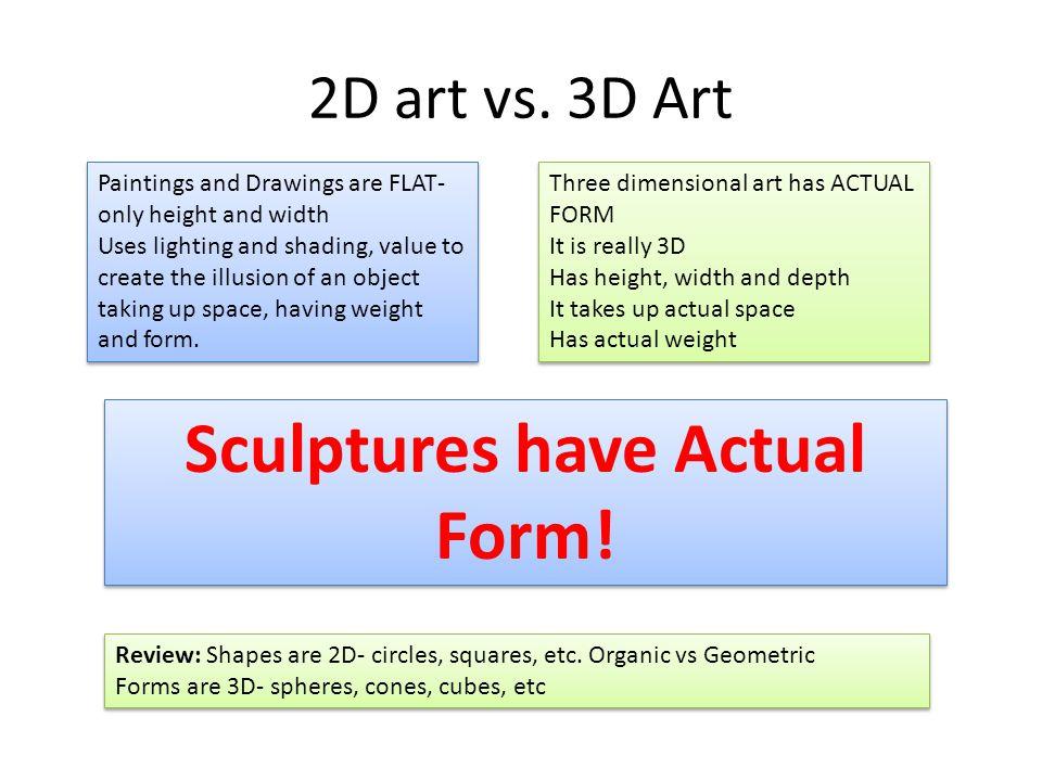2D art vs.