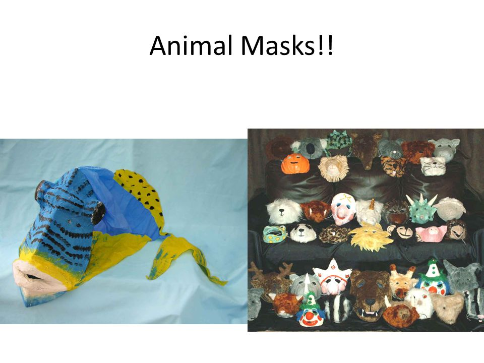 Animal Masks!!