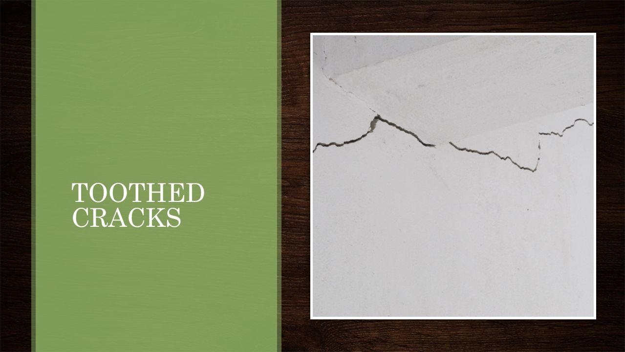 STEPPED CRACKS