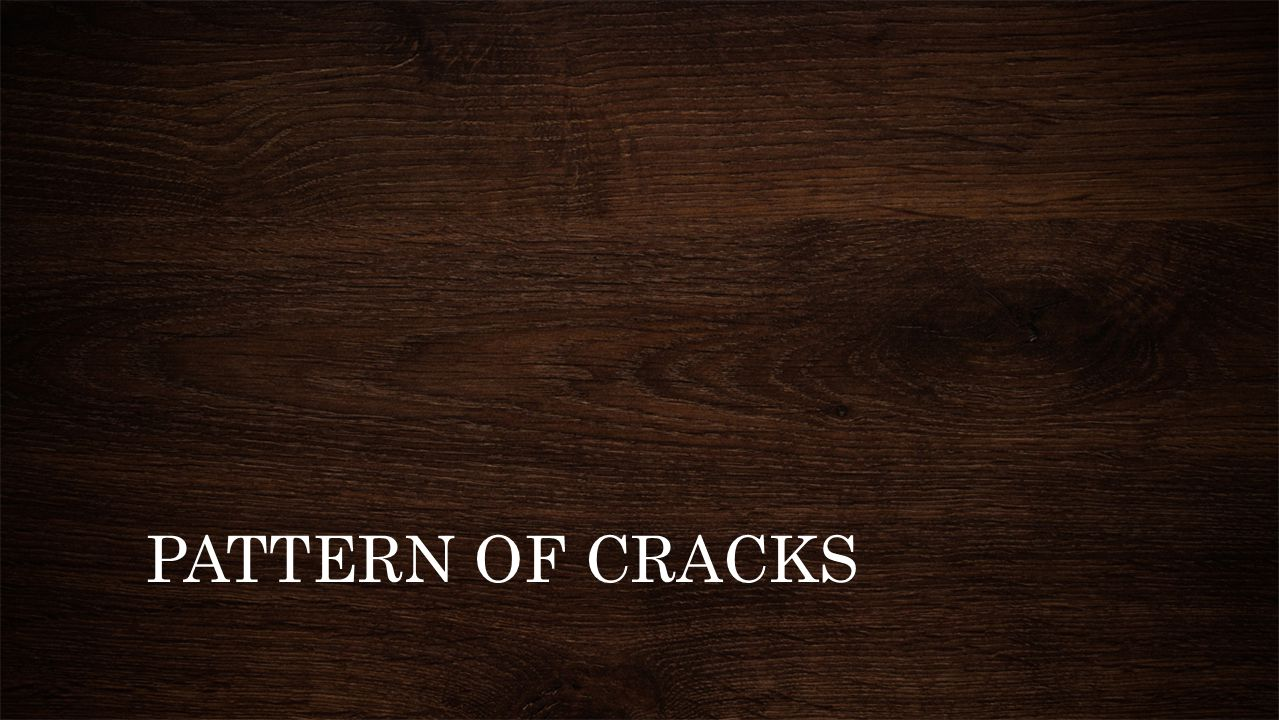 CLASSIFICATIONS: Straight Toothed Stepped Random Crazing - Occurrence of closely spaced fine cracks at surface of a material