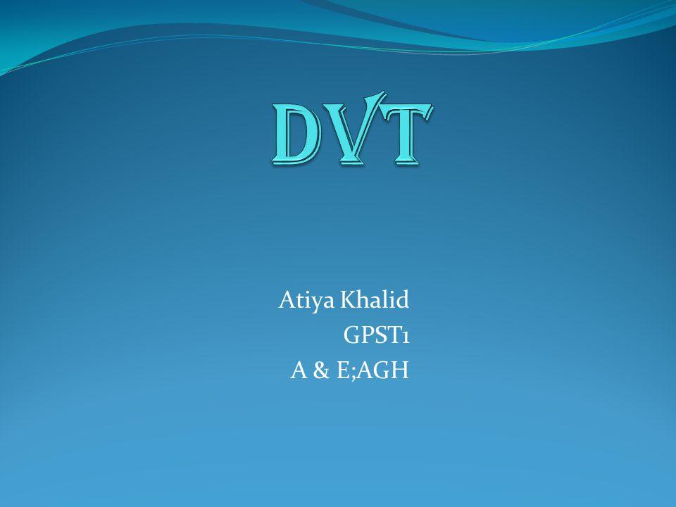Atiya Khalid GPST1 A & E;AGH