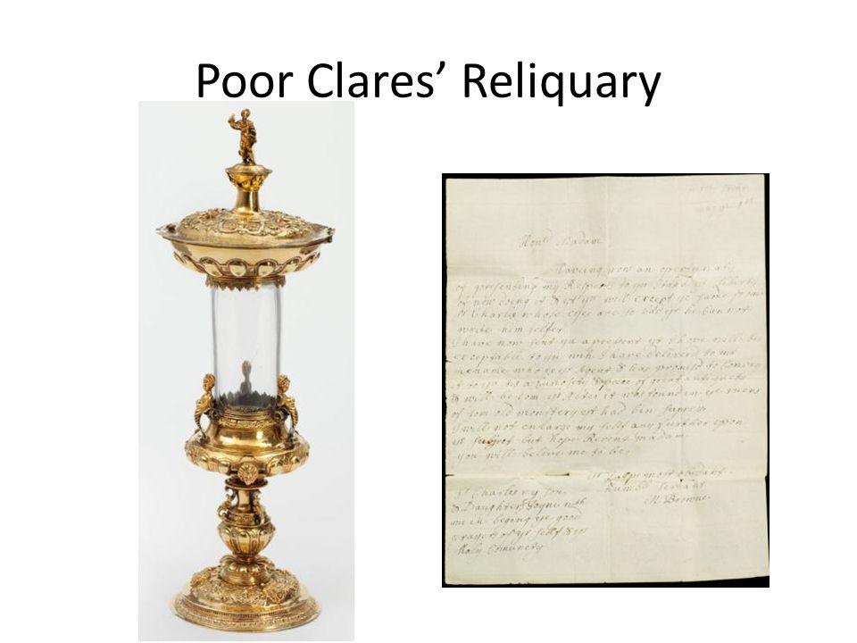 Poor Clares' Reliquary