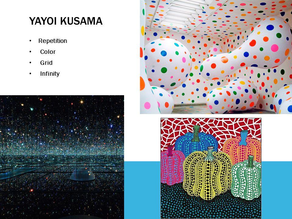 YAYOI KUSAMA Repetition Color Grid Infinity